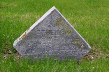 STILTS, ETHEL M. - Minnehaha County, South Dakota | ETHEL M. STILTS - South Dakota Gravestone Photos