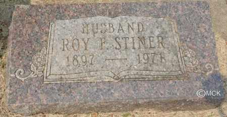 STINER, ROY F. - Minnehaha County, South Dakota | ROY F. STINER - South Dakota Gravestone Photos