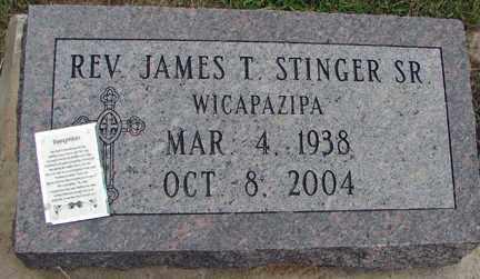 STINGER, JAMES T. SR - Minnehaha County, South Dakota   JAMES T. SR STINGER - South Dakota Gravestone Photos