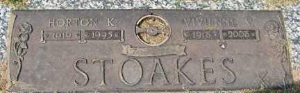 STOAKES, HORTON K. - Minnehaha County, South Dakota   HORTON K. STOAKES - South Dakota Gravestone Photos