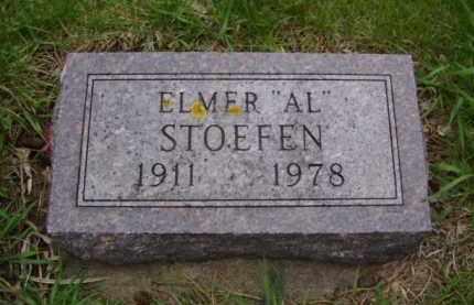 "STOEFEN, ELMER ""AL"" - Minnehaha County, South Dakota | ELMER ""AL"" STOEFEN - South Dakota Gravestone Photos"