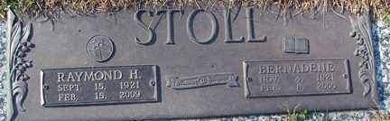 STOLL, RAYMOND H. - Minnehaha County, South Dakota | RAYMOND H. STOLL - South Dakota Gravestone Photos