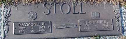 STOLL, BERNADINE - Minnehaha County, South Dakota | BERNADINE STOLL - South Dakota Gravestone Photos
