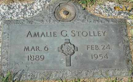 STOLLEY, AMALIE G. - Minnehaha County, South Dakota | AMALIE G. STOLLEY - South Dakota Gravestone Photos