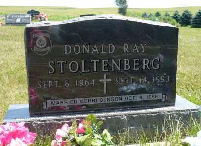 STOLTENBERG, DONALD RAY (FRONT SIDE) - Minnehaha County, South Dakota | DONALD RAY (FRONT SIDE) STOLTENBERG - South Dakota Gravestone Photos