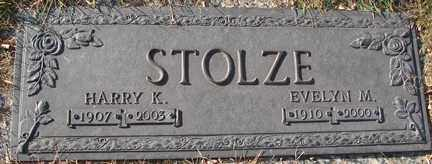 STOLZE, EVELYN M. - Minnehaha County, South Dakota | EVELYN M. STOLZE - South Dakota Gravestone Photos