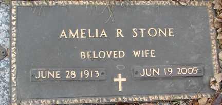 STONE, AMELIA R. - Minnehaha County, South Dakota | AMELIA R. STONE - South Dakota Gravestone Photos