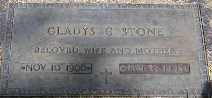 STONE, GLADYS C. - Minnehaha County, South Dakota | GLADYS C. STONE - South Dakota Gravestone Photos