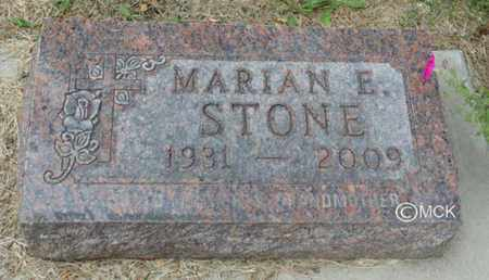 STONE, MARIAN E. - Minnehaha County, South Dakota   MARIAN E. STONE - South Dakota Gravestone Photos