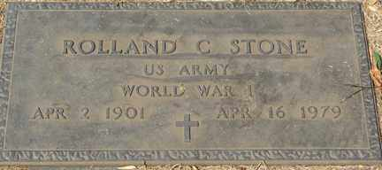 STONE, ROLLAND C. (WWI) - Minnehaha County, South Dakota | ROLLAND C. (WWI) STONE - South Dakota Gravestone Photos