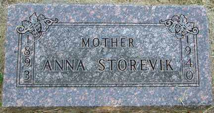 STOREVIK, ANNA - Minnehaha County, South Dakota | ANNA STOREVIK - South Dakota Gravestone Photos