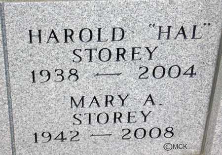 STOREY, HAROLD - Minnehaha County, South Dakota   HAROLD STOREY - South Dakota Gravestone Photos
