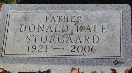 STORGAARD, DONALD DALE - Minnehaha County, South Dakota | DONALD DALE STORGAARD - South Dakota Gravestone Photos