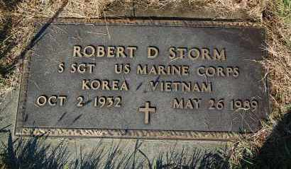 STORM, ROBERT D. (MILITARY) - Minnehaha County, South Dakota | ROBERT D. (MILITARY) STORM - South Dakota Gravestone Photos