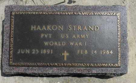 STRAND, HAAKON - Minnehaha County, South Dakota | HAAKON STRAND - South Dakota Gravestone Photos