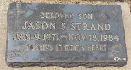 STRAND, JASON S. - Minnehaha County, South Dakota | JASON S. STRAND - South Dakota Gravestone Photos