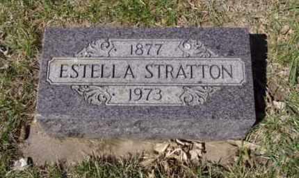 STRATTON, ESTELLA - Minnehaha County, South Dakota | ESTELLA STRATTON - South Dakota Gravestone Photos