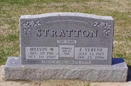 STRATTON, EDITH VERENE - Minnehaha County, South Dakota | EDITH VERENE STRATTON - South Dakota Gravestone Photos