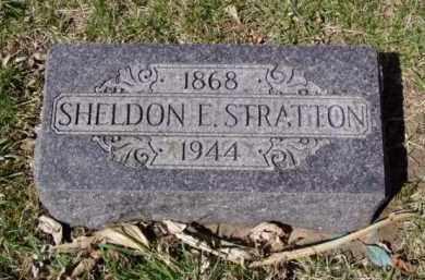 STRATTON, SHELDON ELBANAN - Minnehaha County, South Dakota | SHELDON ELBANAN STRATTON - South Dakota Gravestone Photos