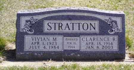 STRATTON, CLARENCE R. - Minnehaha County, South Dakota | CLARENCE R. STRATTON - South Dakota Gravestone Photos