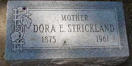 STRICKLAND, DORA E. - Minnehaha County, South Dakota | DORA E. STRICKLAND - South Dakota Gravestone Photos