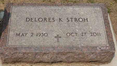 STROH, DELORES K. - Minnehaha County, South Dakota | DELORES K. STROH - South Dakota Gravestone Photos