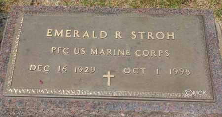 STROH, EMERALD R. - Minnehaha County, South Dakota | EMERALD R. STROH - South Dakota Gravestone Photos