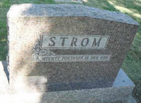 STROM, FAMILY STONE - Minnehaha County, South Dakota   FAMILY STONE STROM - South Dakota Gravestone Photos