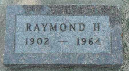 STROM, RAYMOND H. - Minnehaha County, South Dakota   RAYMOND H. STROM - South Dakota Gravestone Photos