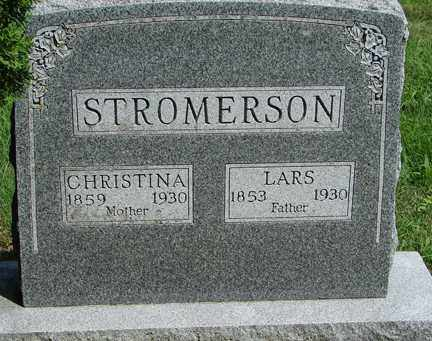 STROMERSON, LARS - Minnehaha County, South Dakota | LARS STROMERSON - South Dakota Gravestone Photos