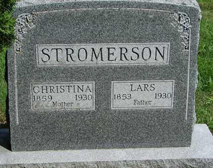 STROMERSON, LARS - Minnehaha County, South Dakota | LARS STROMERSON - South Dakota Gravestone Photos