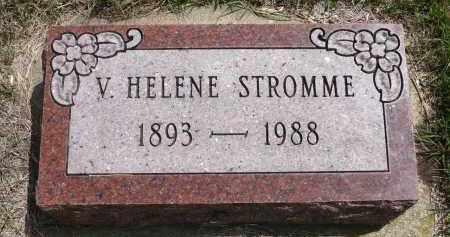 STROMME, V. HELENE - Minnehaha County, South Dakota | V. HELENE STROMME - South Dakota Gravestone Photos
