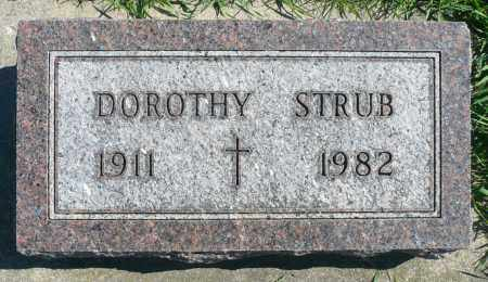 STRUB, DOROTHY - Minnehaha County, South Dakota   DOROTHY STRUB - South Dakota Gravestone Photos