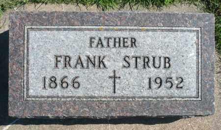 STRUB, FRANK - Minnehaha County, South Dakota   FRANK STRUB - South Dakota Gravestone Photos