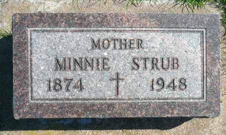 STRUB, MINNIE - Minnehaha County, South Dakota | MINNIE STRUB - South Dakota Gravestone Photos