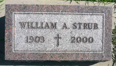 STRUB, WILLIAM A. - Minnehaha County, South Dakota | WILLIAM A. STRUB - South Dakota Gravestone Photos
