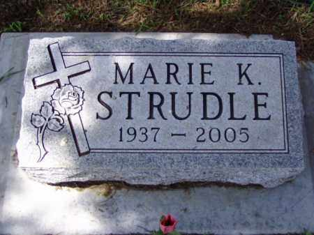 STRUDLE, MARIE K. - Minnehaha County, South Dakota | MARIE K. STRUDLE - South Dakota Gravestone Photos