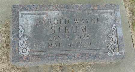 STRUM, DAROLD WAYNE - Minnehaha County, South Dakota | DAROLD WAYNE STRUM - South Dakota Gravestone Photos
