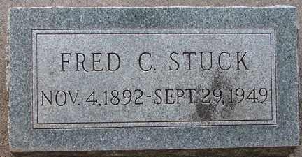 STUCK, FRED C. - Minnehaha County, South Dakota | FRED C. STUCK - South Dakota Gravestone Photos