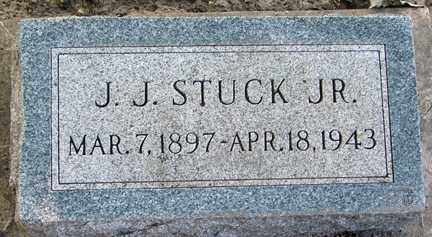 STUCK, J.J. JR. - Minnehaha County, South Dakota | J.J. JR. STUCK - South Dakota Gravestone Photos