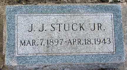 STUCK, J.J. JR. - Minnehaha County, South Dakota | J.J. JR. STUCK - South Dakota Gravestone Photos