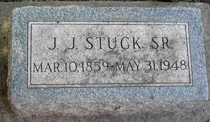STUCK, J.J.  SR. - Minnehaha County, South Dakota | J.J.  SR. STUCK - South Dakota Gravestone Photos
