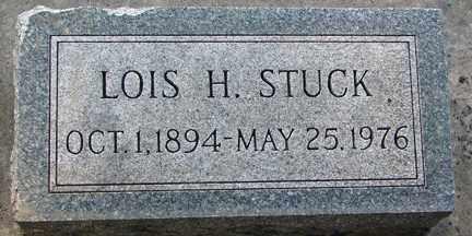 STUCK, LOIS H. - Minnehaha County, South Dakota | LOIS H. STUCK - South Dakota Gravestone Photos