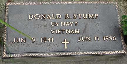 STUMP, DONALD R. (VIETNAM) - Minnehaha County, South Dakota | DONALD R. (VIETNAM) STUMP - South Dakota Gravestone Photos
