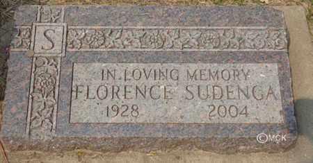 SUDENGA, FLORENCE - Minnehaha County, South Dakota   FLORENCE SUDENGA - South Dakota Gravestone Photos