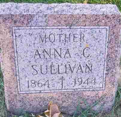 SULLIVAN, ANNA C. - Minnehaha County, South Dakota | ANNA C. SULLIVAN - South Dakota Gravestone Photos