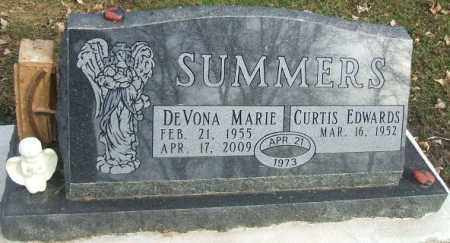 SUMMERS, CURTIS EDWARDS - Minnehaha County, South Dakota | CURTIS EDWARDS SUMMERS - South Dakota Gravestone Photos