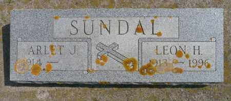 SUNDAL, LEON H. - Minnehaha County, South Dakota | LEON H. SUNDAL - South Dakota Gravestone Photos