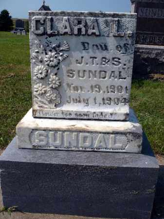 SUNDAL, CLARA L. - Minnehaha County, South Dakota | CLARA L. SUNDAL - South Dakota Gravestone Photos
