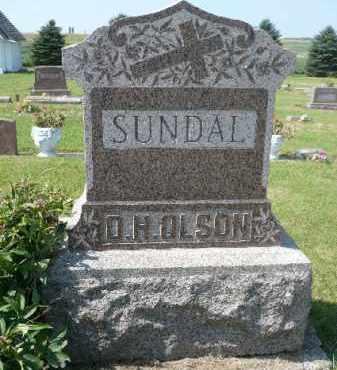 SUNDAL, FAMILY MARKER - Minnehaha County, South Dakota | FAMILY MARKER SUNDAL - South Dakota Gravestone Photos
